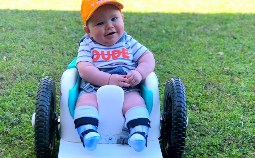 How this child with Spina Bifida is proving all his doctorswrong!