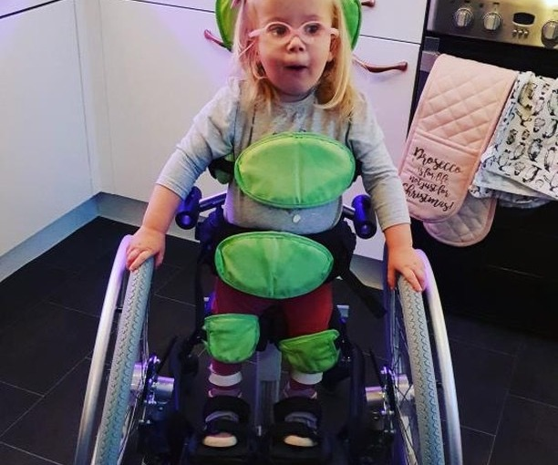 """ Bella is doing so well and is such a strong, beautiful, happy, smiley, little fighter who loves her cuddles and who is so very loved and absolutely doted on by her 2 big brothers. """